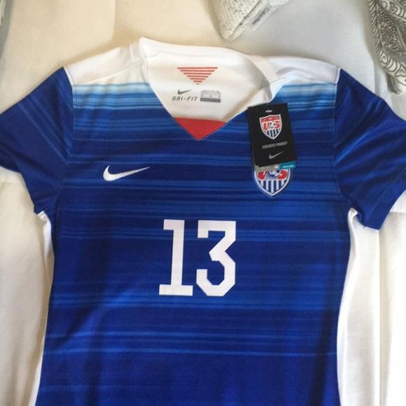 super popular 87397 d3a42 Alex Morgan soccer jersey NWT